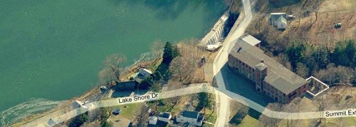 Summit Mill aerial photo via Bing.com