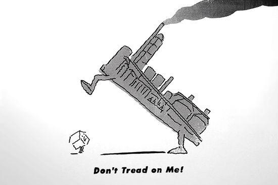 R.O. Blechman sign illustration