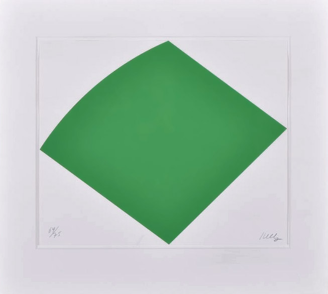 Ellsworth Kelly litho
