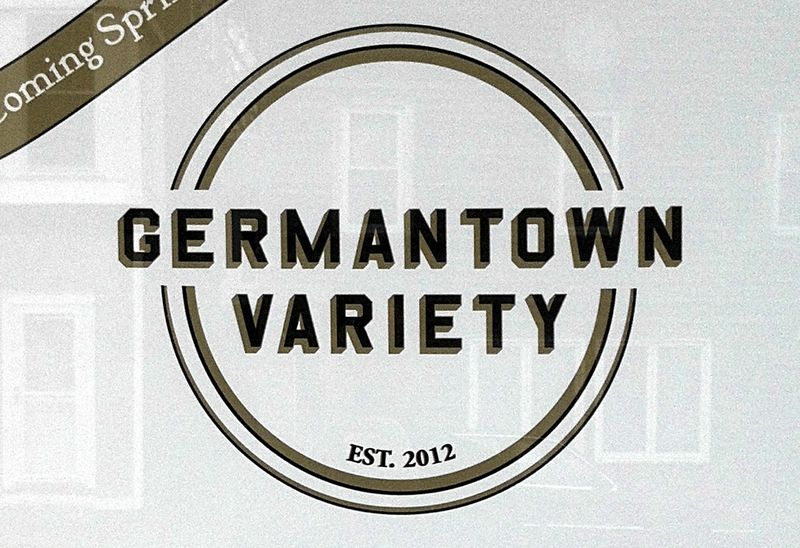 Germantown Variety store, coming soon (Spring 2012)