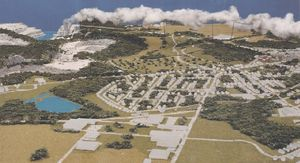 Model of SLC Greenport project