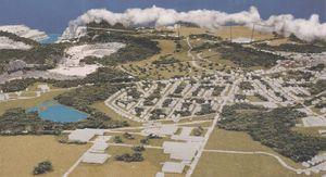 Model of SLC Greenport project