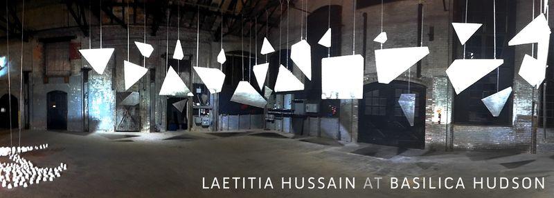 Laetitia Hussain installation at Basilica Hudson