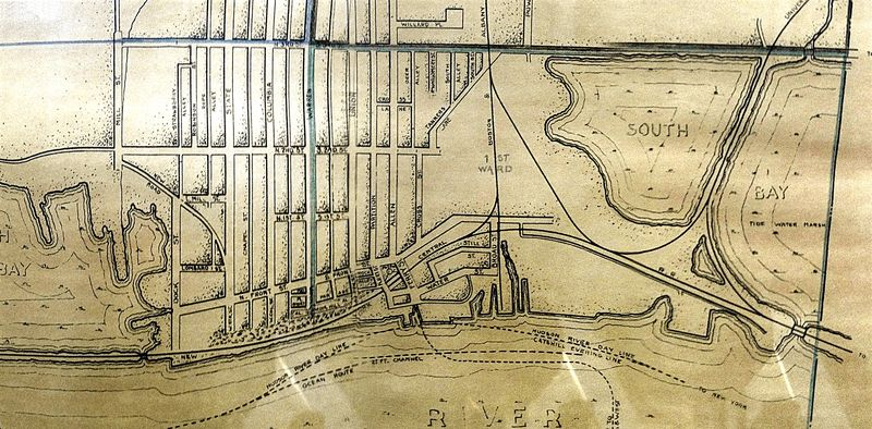 Hudson Map from 1832
