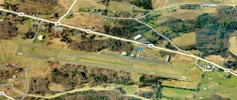 Columbia County Airport in Ghent, NY