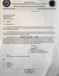 Letter to Mulren, cc: VanDeusen