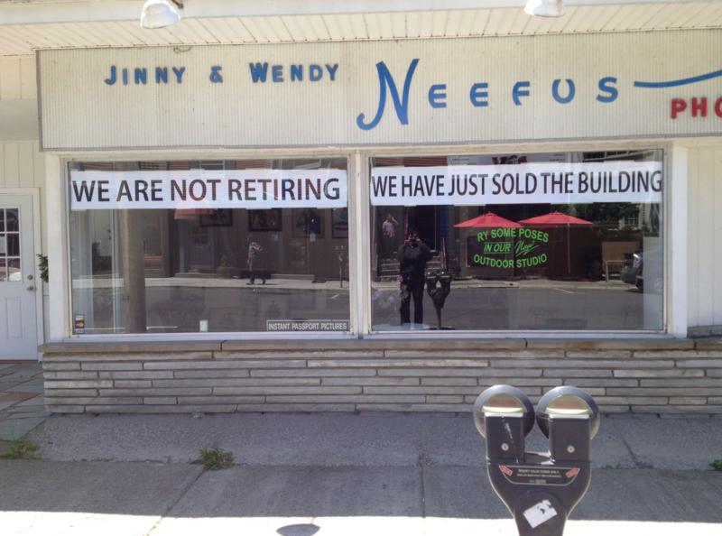 Neefus Photography on Warren Street in Hudson, New York