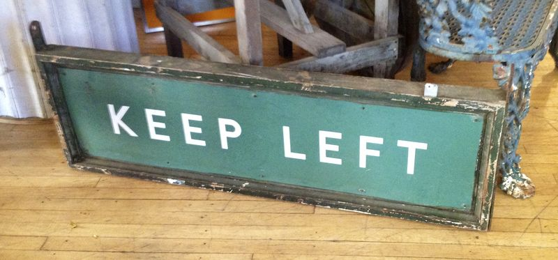 Keepleft