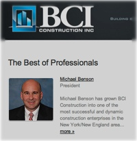 Mike Benson's profile at his company website