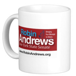 Robin Andrews campaign mug