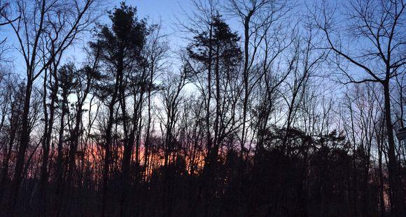 Sunrise in Greenport (NY)