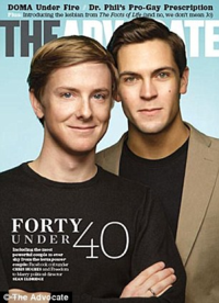 Magazine cover featuring Eldridge and Hughes via dailymail.co.uk