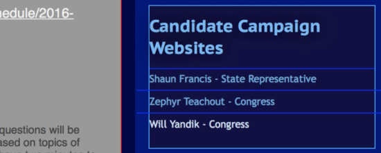 Columbia County Democratic Committee website