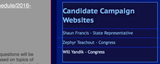Columbia County Democratic Committee website